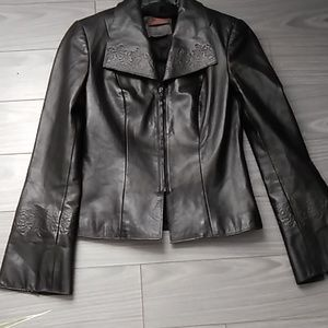 💎Host Pick💎Danier Leather Boho Style Jacket